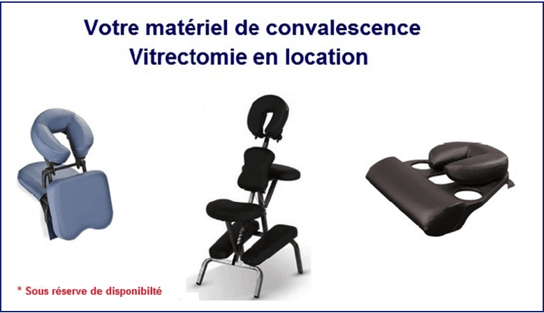 Location Convalescence Vitrectomie