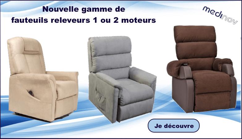 Nos fauteuils releveurs sont des fauteuils confortables et utiles
