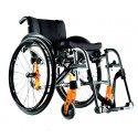 Quickie Life fauteuil roulant manuel pliant