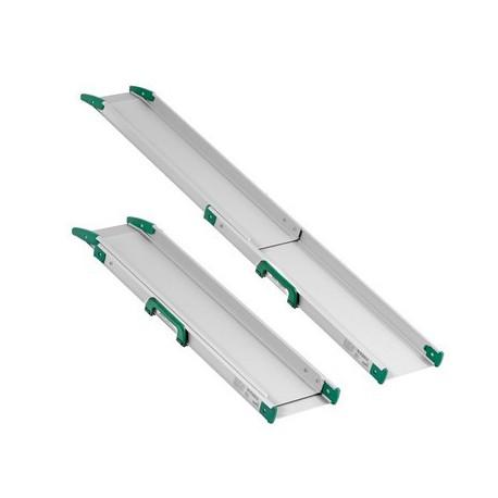 Paire de rails télescopiques (100 à 300 cm)