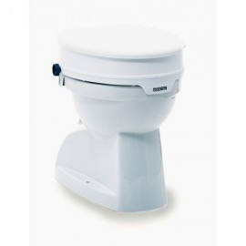 Réhausse WC 10 cm avec abattant
