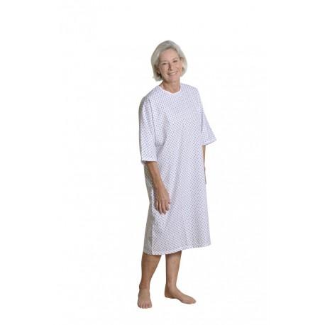 Chemise de nuit Ontario pour séjour hospitalier hospitalisation