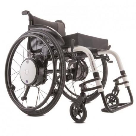 assistance lectrique twion pour fauteuil roulant manuel. Black Bedroom Furniture Sets. Home Design Ideas