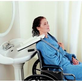 Plateau lave tête pour fauteuil roulant