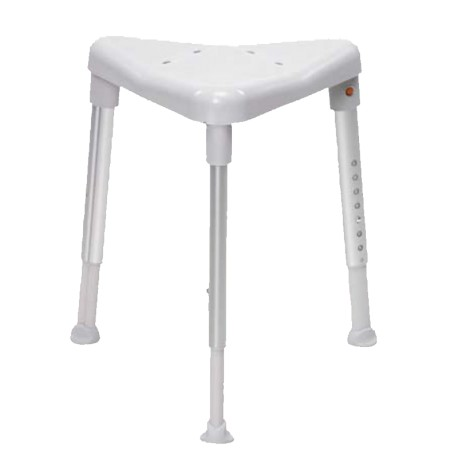 Tabouret de douche triangulaire