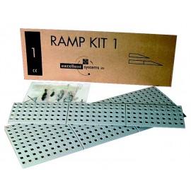 Kit rampe n°1, 75 cm de large 4 cm de haut