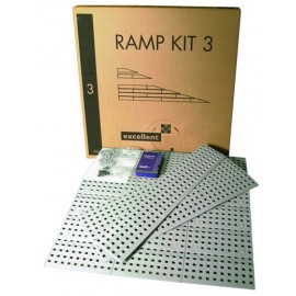 Kit rampe n°3, 75 cm de large 7.2 à 10.8 cm de haut