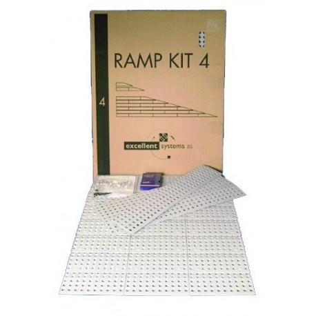 Kit rampe n°4, 75 cm de large 7.5 à 15 cm de haut