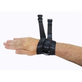Attaches de poignets sécurisées