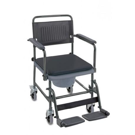 Chaise toilettes et transfert sur roues