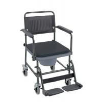 Chaise toilettes Cascata sur roues