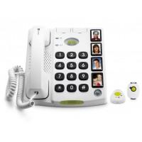 Téléphone alarme et médaillon d'alarme étanche Doro Secure 347