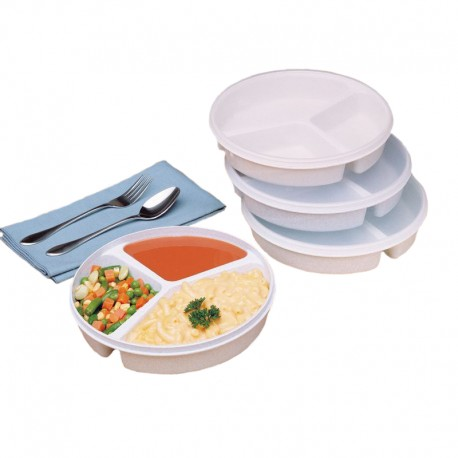 Assiette 3 compartiments