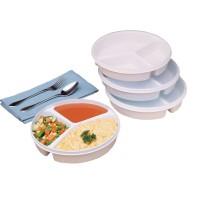 Assiette à 3 compartiments