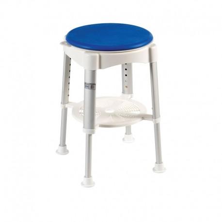 Tabouret avec assise pivotante