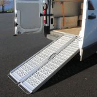 Rampe d'accès valise Ergo pliable (61 à 213 cm)