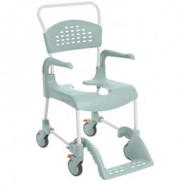 Chaise de douche et de toilettes à roues Clean