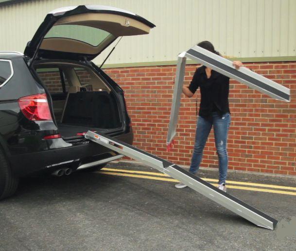 rampe sur vehicule