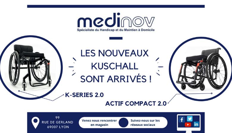 Kuschall K SERIES & ACTIF COMPACT 2.0