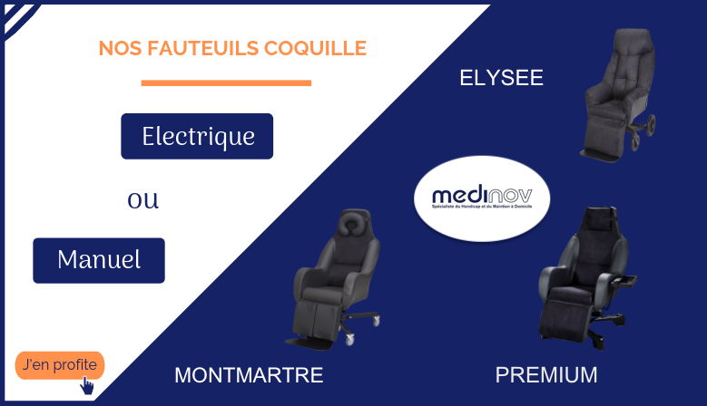 Fauteuils coquille