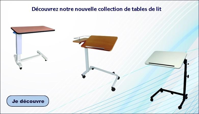 Nouvelles table de lit