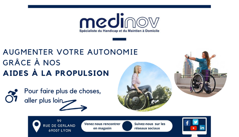 aides à la propulsion fauteuil roulant
