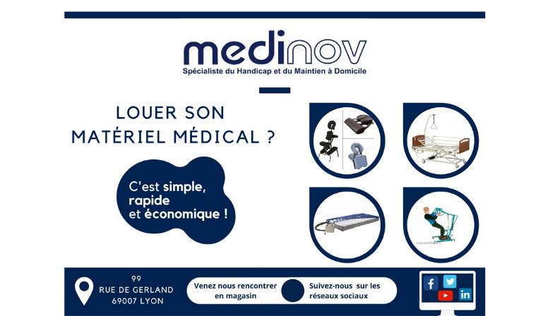 location matériel médical