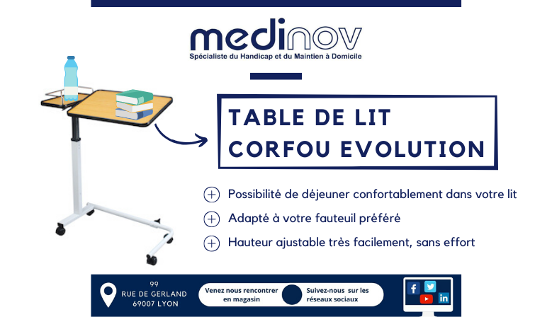 Table de lit Corfou